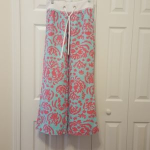 Lilly Pulitzer the beach pant in 'Marine'    S